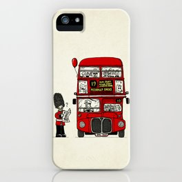 Lost in London iPhone Case