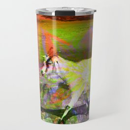goat flower Travel Mug