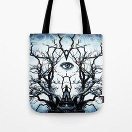 Tree of Life Archetype Religious Symmetry Tote Bag