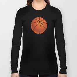 Basketball Ball Long Sleeve T-shirt