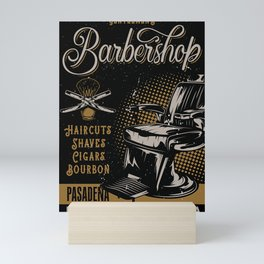 Gentlemen's Barber Shop LA Mini Art Print
