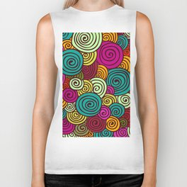 African Style No10 Biker Tank