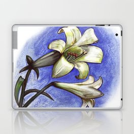 Easter Lily Laptop & iPad Skin