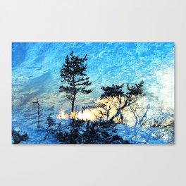 SHINING II Canvas Print