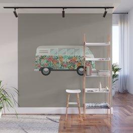 Hippie van Wall Mural