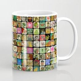 Vintage Heads Coffee Mug