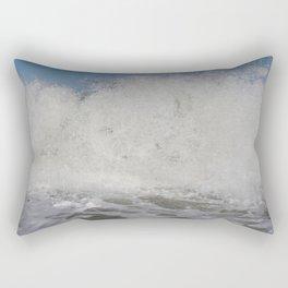 14 Days of Waves (3/14) Rectangular Pillow
