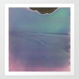 Slippery Shore Art Print