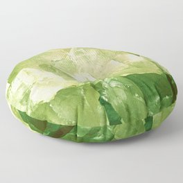 Green Gems Floor Pillow