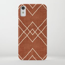 Nudo in Rust iPhone Case