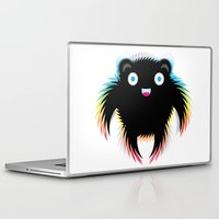 michael scott Laptop & iPad Skins featuring Michael by res_fly
