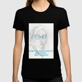 short-sighted impressionists T-shirt