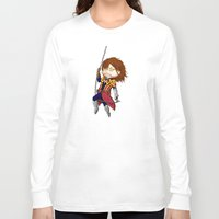 castlevania Long Sleeve T-shirts featuring I break in like a belmont!!! by Laharl