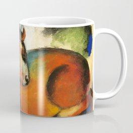 """Franz Marc """"Roter Stier"""" Coffee Mug"""