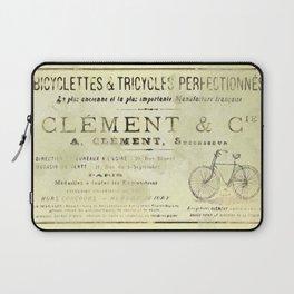 Bicyclette Laptop Sleeve