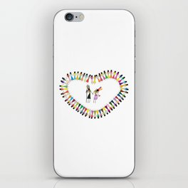 Saura Tribal Art iPhone Skin
