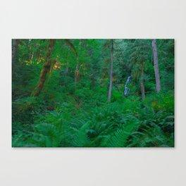 Relentless Green Canvas Print