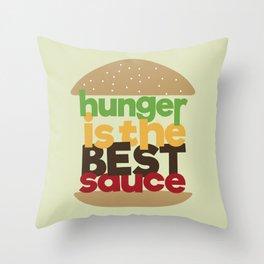 the best sauce Throw Pillow
