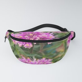 Pure Nature Pretty Pink Flowers Fanny Pack