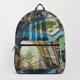Dubai from the tallest building in the world Backpack