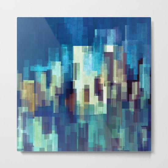 City Nights Metal Print