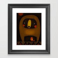 BODY GUARD Framed Art Print