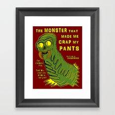 The Monster That... Framed Art Print