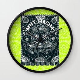 Muy Macho Neon Wall Clock