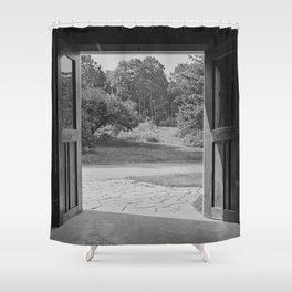 Doorway Shower Curtain