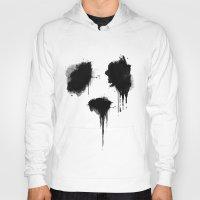 panda Hoodies featuring PANDA by Sara Eshak