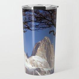 Fitz Roy Mountain Landscape (Patagonia, South America) Travel Mug