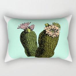 cactus mint Rectangular Pillow