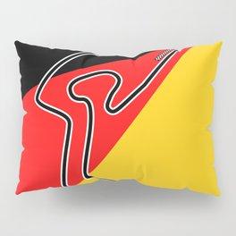 Nurburgring Grand Prix Circuit Pillow Sham