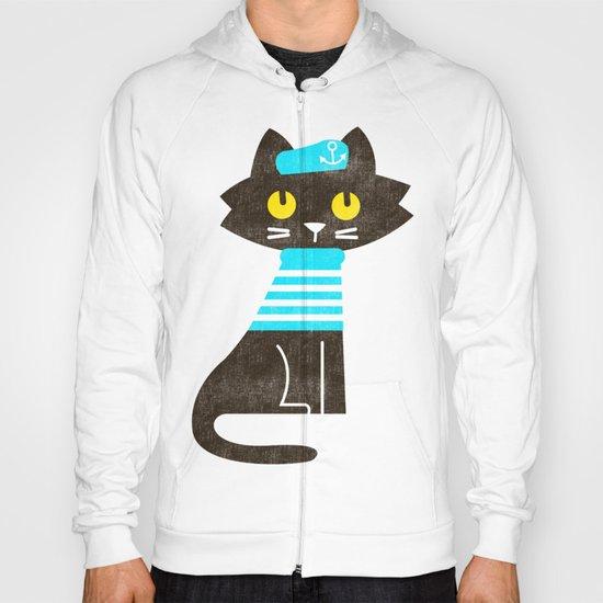 Fitz - Sailor cat Hoody