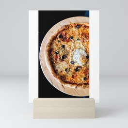 Pizza Slices (7) Mini Art Print
