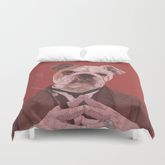 I know you're lying... Duvet Cover