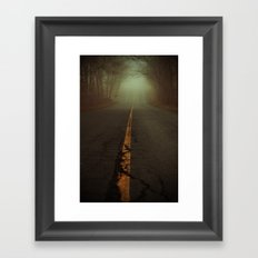 What Lies Ahead Framed Art Print