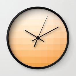 Lumen, Amber Glow Wall Clock