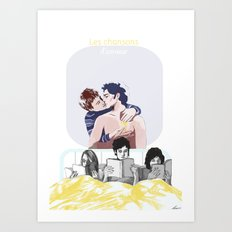Chansons Art Print