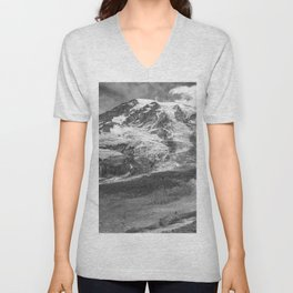 Glaciers of Rainier Unisex V-Neck