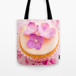Decorated cupcake Tote Bag