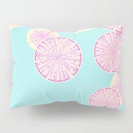 Watermelon Radish Abstract Pillow Sham