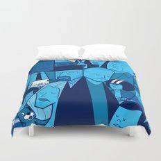 Breaking Bad (blue version) Duvet Cover