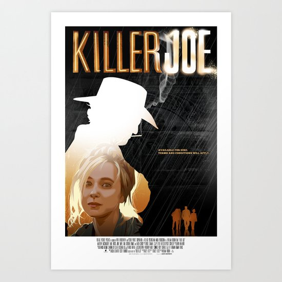 Killer Joe Art Print