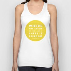 There Is Freedom Unisex Tank Top