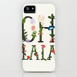 OH LA LA iPhone Case