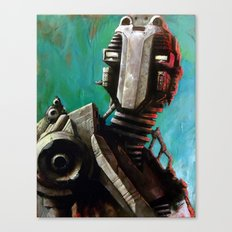 Twin #1 Robot Canvas Print