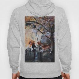 Watercolor painting - Autumn rain - Hoody