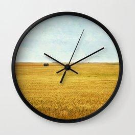 Missing Harvest Wall Clock