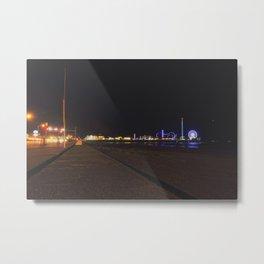 Galveston Pier  Metal Print